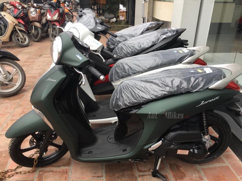 ảnh Thực Tế Yamaha Janus Màu Mới Tại đại Lý