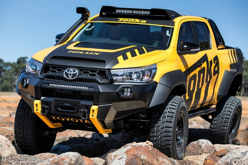 toyota hilux do phong cach off road cuc chat