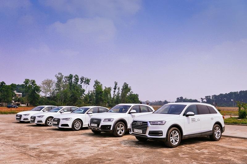audi tap huan cho 600 lai xe phuc vu apec 2017
