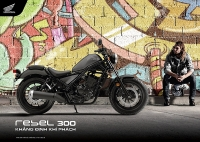 honda rebel 300 2019 co mau moi gia khong doi