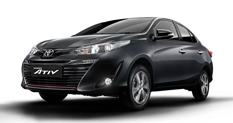 Toyota Vios 2020 tại Thái Lan, động cơ mới tiết kiệm xăng hơn