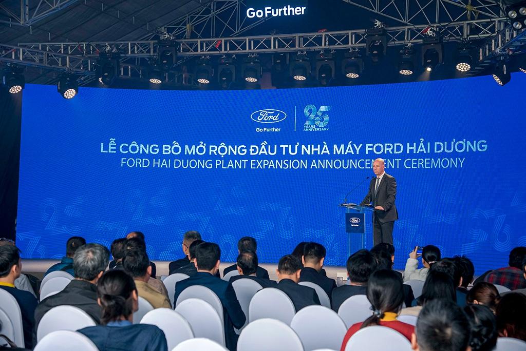 Ford Việt Nam bất ngờ rót 2.000 tỷ tăng gấp 3 công suất nhà máy Hải Dương