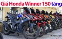 gia honda winner 150 tang nhe dai ly van lo nang
