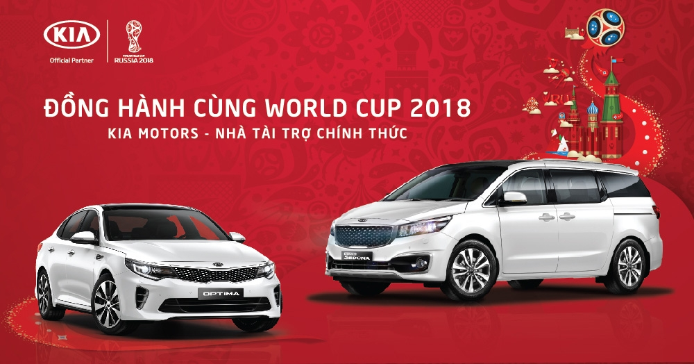 kia viet nam dong hanh cung world cup 2018