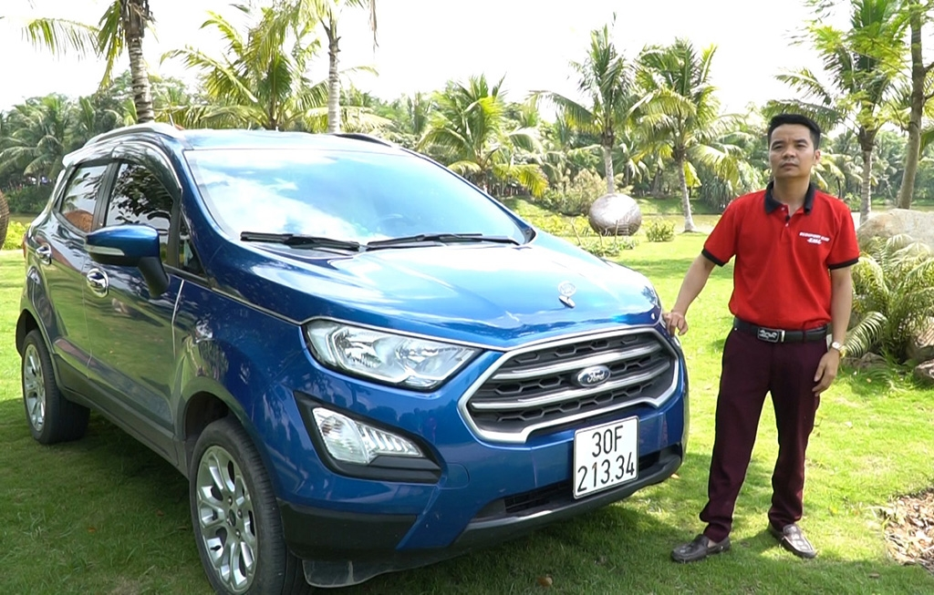 ford ecosport dot ngot giam gia 50 trieu dong canh tranh hyundai kona