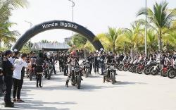 Hàng trăm Honda bikers 'quẩy tới bến' tại Hạ Long
