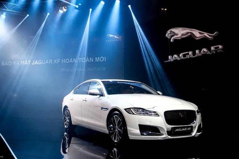 jaguar xf the he thu 2 chinh thuc ra mat o viet nam