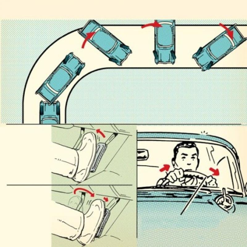 kinh nghiem xu ly tinh huong tron truot khi lai xe