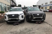 hyundai palisade o at ve viet nam de doa ford explorer