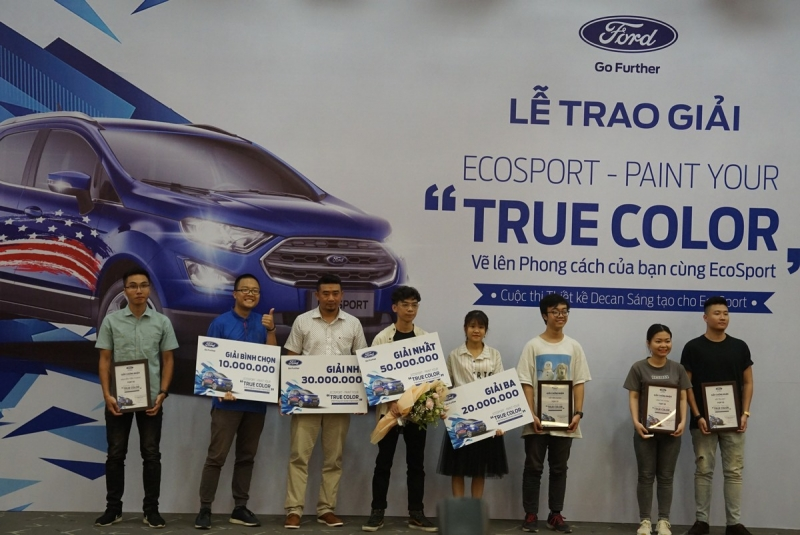 ford ecosport bien hoa trong paint your true color