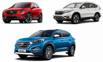 honda cr v that the hyundai tucson ke ngoi vuong