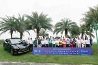 lexus dong hanh cung giai golf life tournament 2018