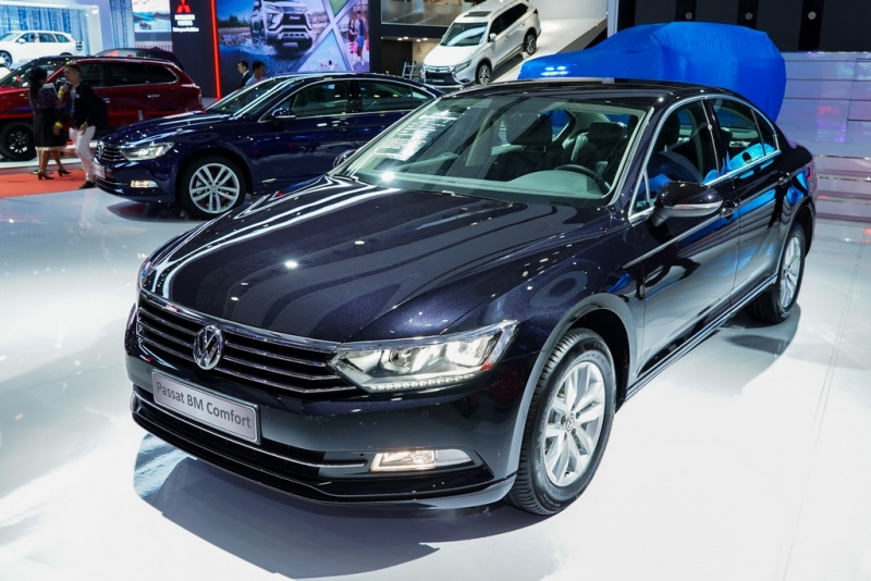 can canh 7 mau xe chien luoc cua volkswagen tai vms 2018