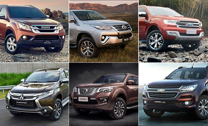 so sanh terra fortuner everest pajero sport chon sao cho dung