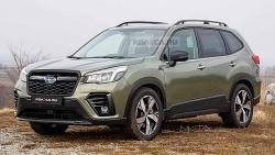 Hé lộ thiết kế của mẫu xe Subaru Forester 2022