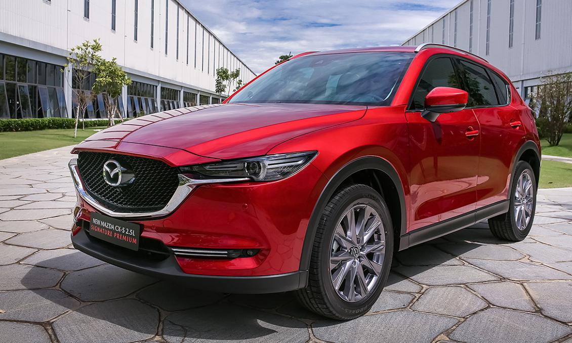 Mazda CX-5 vượt mặt CR-V chiếm ngôi đầu phân khúc năm 2020