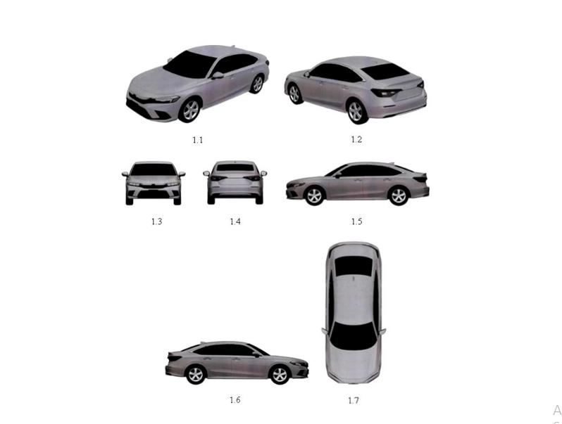 Lộ thiết kế Honda Civic 2022 tại Việt Nam