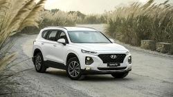 Hyundai Santa Fe bất ngờ giảm giá tới 70 triệu đồng tại đại lý