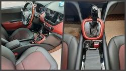 Chủ xe Hyundai i10 độ bệ tì tay, phanh điện tử trông như xe sang