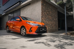 Toyota Vios 2021 có 4 phiên bản, không có Safety Sense