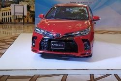 So sánh Toyota Vios 2021 với Toyota Vios 2020