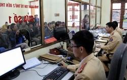 Đổi địa chỉ đăng ký xe ô tô, xe máy của 4 quận nội thành Hà Nội