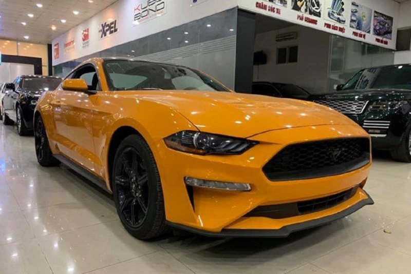ford mustang dat danh hieu xe the thao ban chay nhat the gioi
