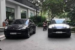 Hai xe Porsche Macan trùng biển số, xuất hiện tại Hà Nội