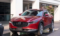 mazda cx 30 sap ra mat co loi the gi de canh tranh voi kona hr v