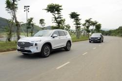Người dùng đánh giá Hyundai Santa Fe 2021