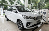 Top 10 mẫu xe bán chậm nhất thị trường Việt tháng 4