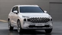 Đại lý nhận cọc Hyundai Santa Fe 2021, chờ ngày ra mắt