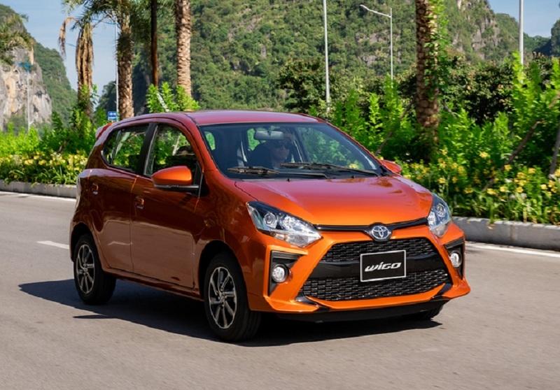 Toyota Wigo 2021 giảm 21 triệu đồng, đấu Fadil, Grand i10