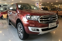 so sanh ford everest 20l 4wd va hyundai santa fe 22 dau cao cap