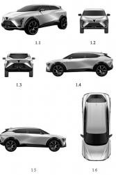 VinFast lộ đăng ký bản quyền mẫu xe ô tô điện mới