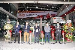 Bridgestone khai trương trung tâm dịch vụ lốp xe cao cấp tại Hà Nội