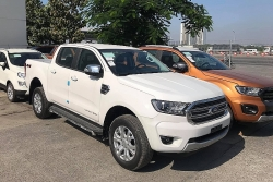 Lộ diện Ford Ranger và Everest 2021 trước ngày ra mắt