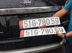 Ô tô không lắp được biển số ngắn theo quy định, phải làm sao?