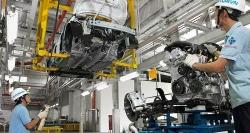 Ô tô lắp ráp không được gia hạn giảm 50% phí trước bạ