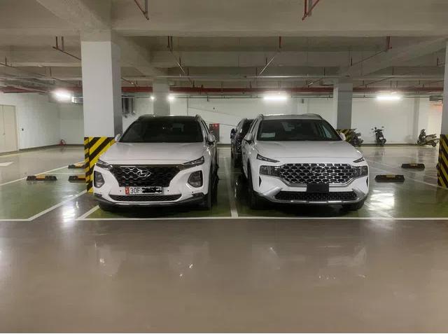 Hyundai Santa Fe 2021 bất ngờ lộ diện tại Việt Nam