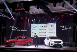Honda CIty 2021 giá từ 529 triệu đồng, có thể đấu Hyundai Accent?