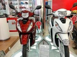 Honda Vison 2021 tại đại lý, đội giá gần 4 triệu đồng