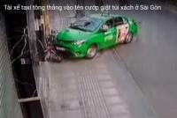 lai xe taxi mai linh tong vao ten cuop tai tp ho chi minh