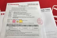 honda viet nam chua nhan dat coc cr v 2017 ban 7 cho