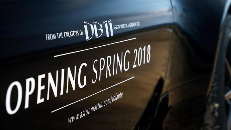 lo dien aston martin db11 volante 2018