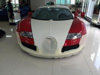bugatti veyron cua minh nhua duoc cham soc dac biet