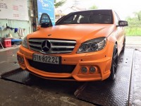 ca sy tuan hung tau mercedes c200 do cuc chat