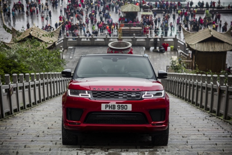 range rover sport 2018 chinh phuc cong troi tai trung quoc