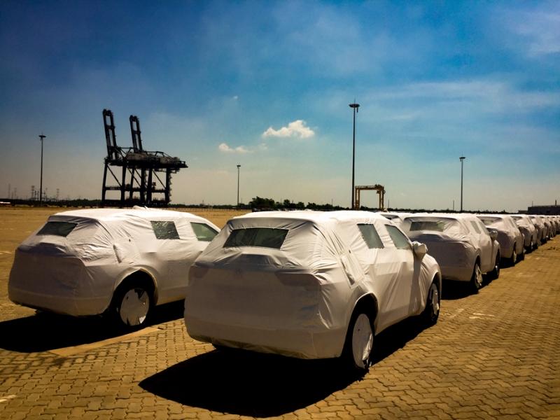 lo xe volkswagen tiguan allspace 2018 dau tien ve viet nam