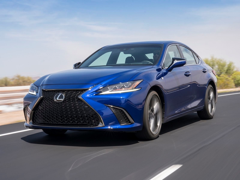lexus es 2019 ra mat co them phien ban the thao